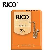 RICO Derppde тенор Bb саксофон сила тростника 2,5#, 3,0# оранжевая коробка из 10