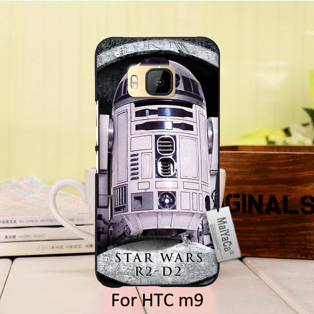 f32ee88db MaiYaCa Luxury PC Hard phone case cover For case HTC One m9 Robot Star Wars