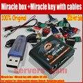 2016 Hot Sale Original caixa + chave Milagre Milagre com cabos (V2.33A atualização quente) para china mobile phones Desbloqueio + Reparação desbloquear
