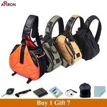Best price Caden Waterproof Travel Small Shoulder Camera Khaki Bag with Rain Cover Triangle Sling  Digital DSLR Photo Padded Backpack Bag