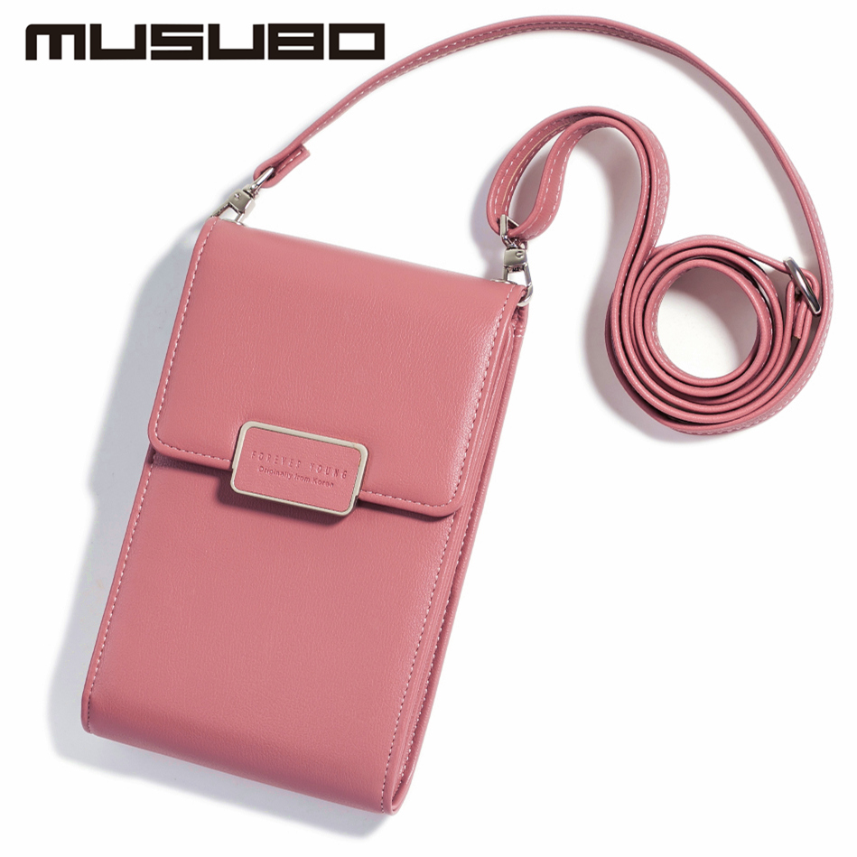 Musubo Luxury Woman Phone Bag Case For Samsung GALAXY Note 9 Note 8 7 5 Girls Messenger Leather Mini Crossbody Bag Wallet Cover