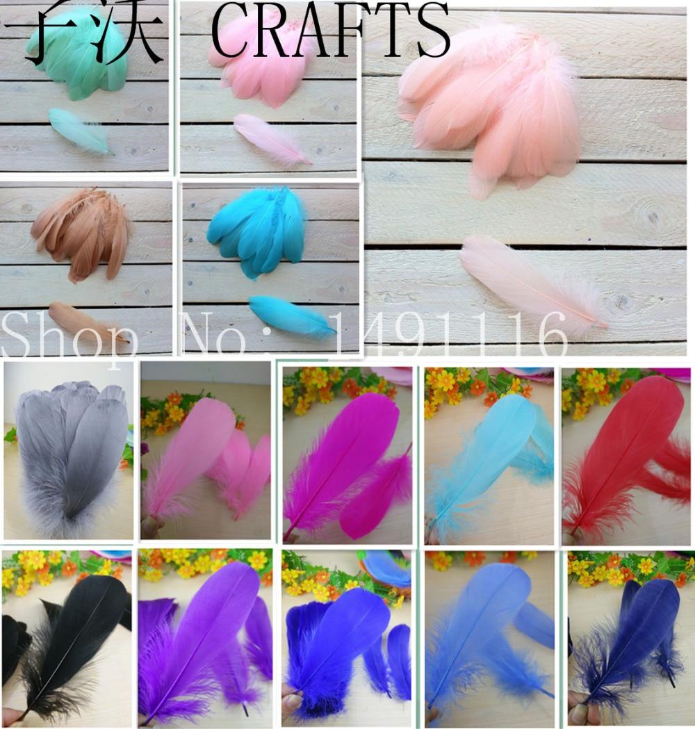 ¡Nuevo! Venta al por mayor Bloodfang color 20 pc calidad plumas de - Artes, artesanía y costura