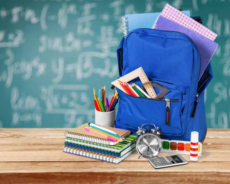 Huayi Back To School Schoolbag Backdrops Photo Studio