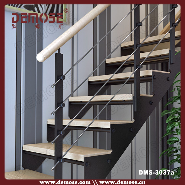New Style Prefab Stairs With Wood Stair Treads On Aliexpress.com .