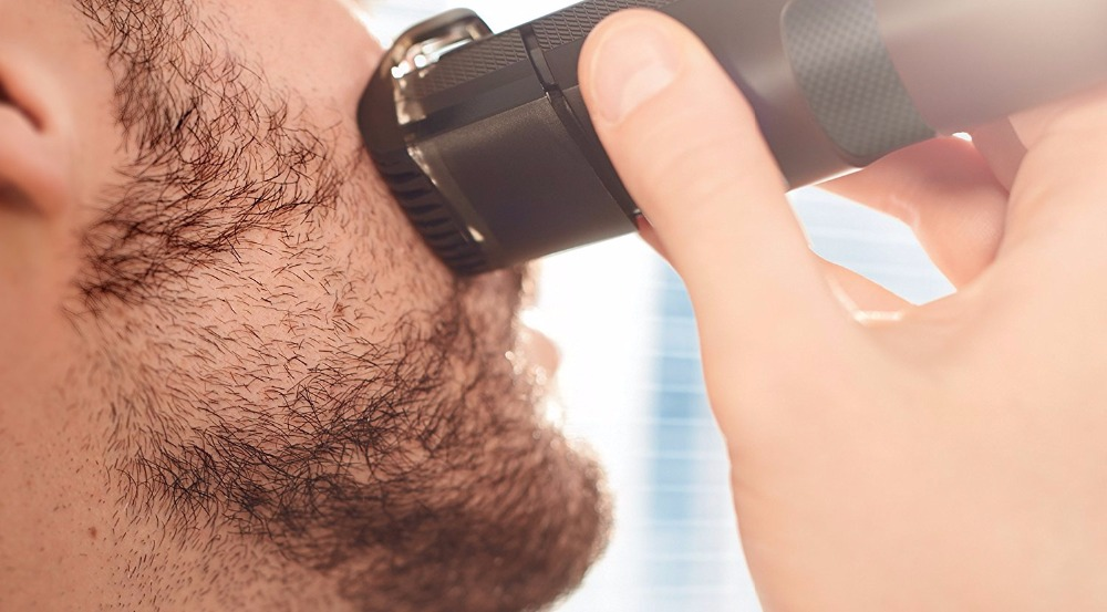 Men's Precision Beard Trimmer mustache trimer grooming professional stubble trimmer face shaving rechargeable tool 1-8mm 1
