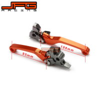 CNC Pivot Foldable Clutch Brake Lever For KTM 125 144 SX EXC SXF250 EXC300 SX450 XC
