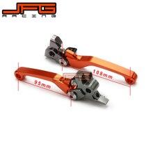 CNC Pivot Foldable Clutch Brake Lever For KTM 125 144 SX EXC SXF250 EXC300 SX450 XC-W XCW450 SX125 SX144 EXC200 EXC250 350 450