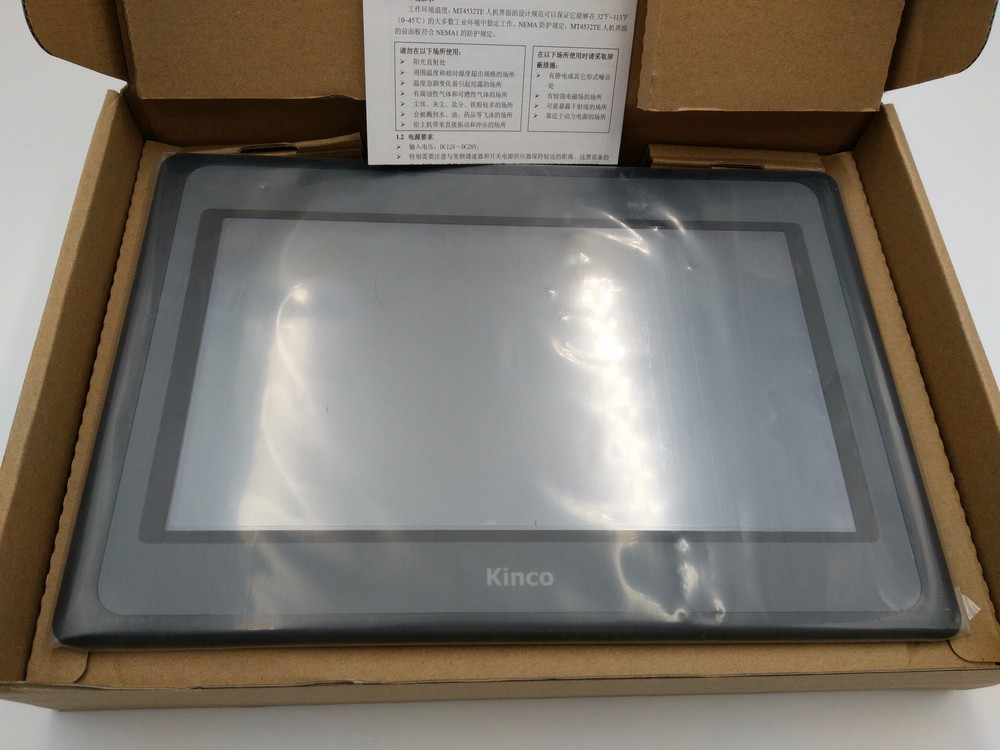 Kinco MT4532TE HMI 10.1 inch 1024*600 Ethernet 1 USB Host with Programing Cable&Software