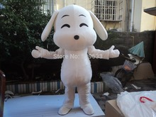 Lovely dog Mascot costume Adult size dog Mascot costume Free shipping