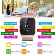 2016 mode-stil smart watch d99 auf wrist smartwatch ältere tragbare gerät unterstützung sos clarm alle kompatibel mit android ios