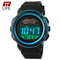 2016 TTLIFE Brand Military Waterproof Wrist Watches Men's Solar Digital Watch Men Sports Men Designer Clock Day Date Watches