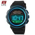 2016 TTLIFE Brand Military Waterproof Wrist Watches Men's Solar Digital Watch Men Sports Men Designer Clock Day Date Watches