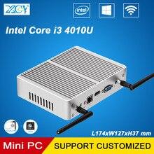 XCY Mini PC Core i3 4010 4 Г RAM 320 Г SSD Мини Настольных компьютеров Двухъядерные HDMI VGA WIFI Windows10 HTPC Бытовые ПК