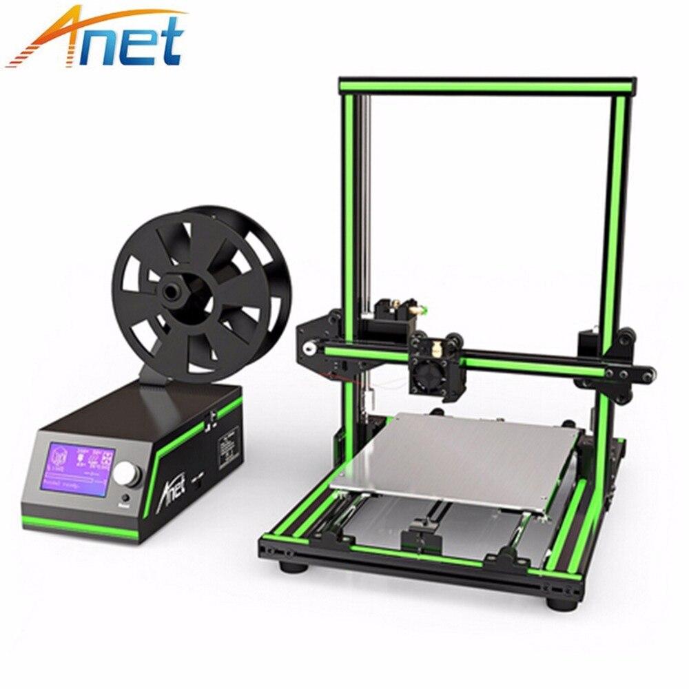 Hot sale Anet E10 T1 3d printer high precision cheap price desktop metal multi languages kossel delta 3d laser printer DIY kit in 3D Printers from Computer Office