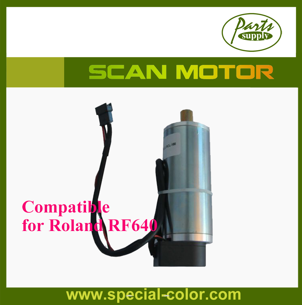 New Arrival Top Quality Roland DX7 Printer RA-640/RF-640 Scan Motor (Servo Motor) roland sj 640 xj 640 l bearing rail block ssr15xw2ge 2560ly 21895161 printer parts