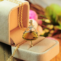 South Korea female jewelry necklace crystal pendant full   Ballerina long paragraph sweater chain Z3071