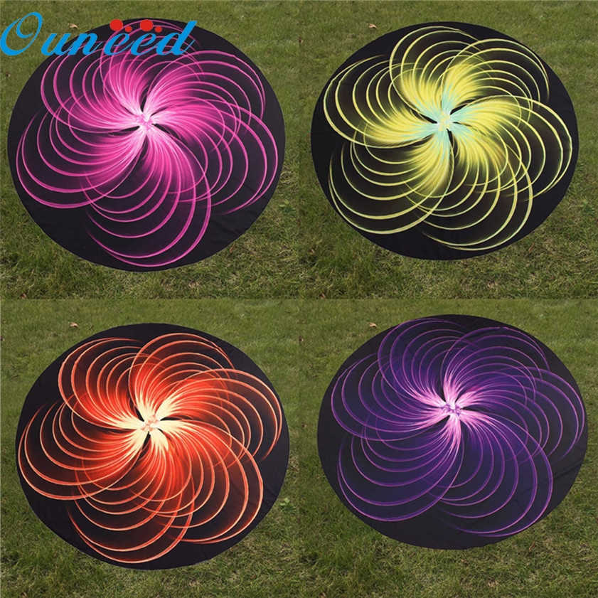 Zero 3D Print Pattern Yoga Mat Beach Pool Home Table Cloth Yoga Mat 170308