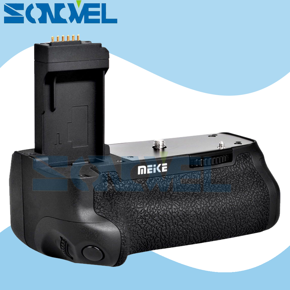 MEIKE MK-760D vertical Battery Grip Holder for Canon EOS 750D 760D Rebel T6i T6s as BG-E18 Replacement, Work LP-E17 Batteries pro vertical battery grip holder for canon eos 760d 750d t6s t6i ix8 as bg e18