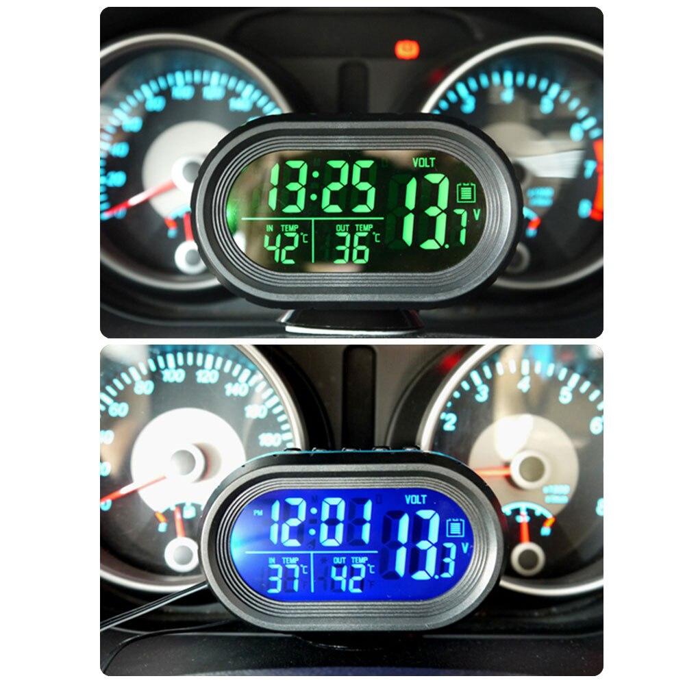 цифровые часы для авто схема