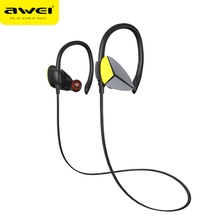 Awei A888BL Neckhand Bluetooth Earphone Wireless In-Ear Earbuds with Microphone Noise Cancelling For Phone