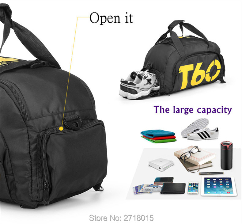 2017 New Brand Women Gym Bag Sports Bags T60 Waterproof Outdoor Men Luggage Travel Hiking Backpack Multifunctional Duffle Bag2