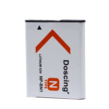 1Pcs 3.7V 1000mAh NP-BN1 NP BN1 NPBN1 Replacement Camera Battery Pack for Sony TX9 WX100 TX5 WX5C W620 W630 W670 TX100 Wholesale
