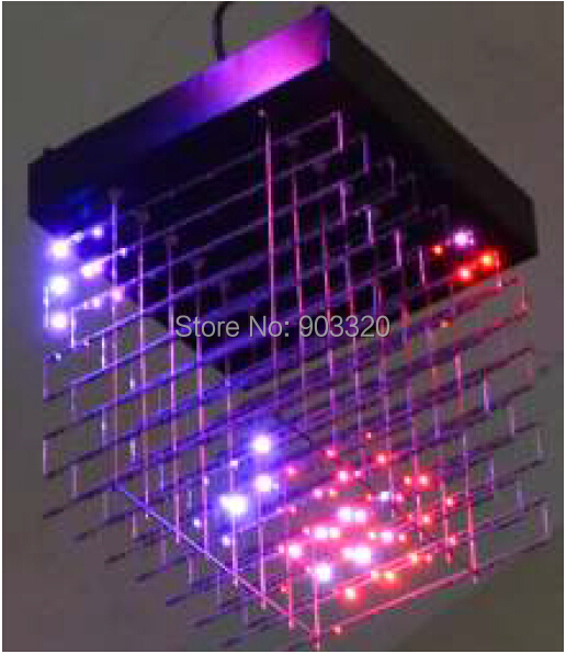 Ingenious New Arrival Hanging Type 30*30*30cm Pc Mode Control Mode Smd1616 3 In 1 3d Led Cube Light,led Display For Disco Party,exhibition Professional Lighting Commercial Lighting