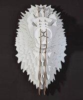 Деревянная голова льва для настенного висит, DIY домашнего декора, голова животного стены, деревянные стены искусства, новинка вещи, рукодели