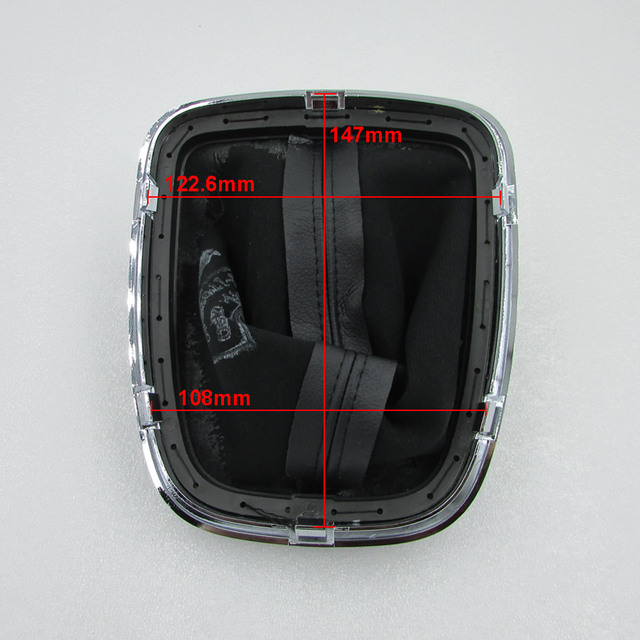 Original for chery A3 shift gear shift lever (with decorative boxes) A3 handball gear lever cowskin