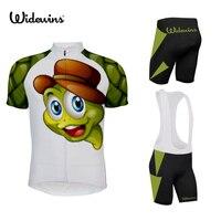 新しい子供亀頭サイクリングプロモーションバイク服プロチーム自転車服の Oem カスタム男の子サイクリングジャージ Ciclismo Ropa 7133