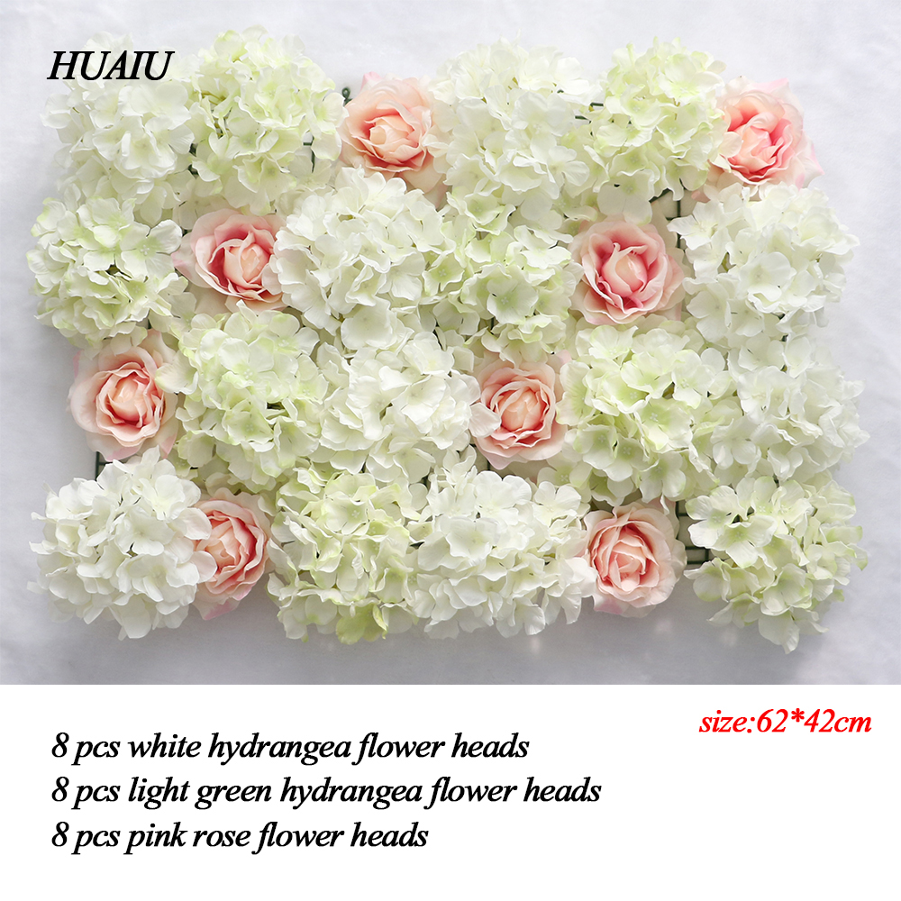 Artificial flower wall 6242cm rose hydrangea flower background 10pcs simulation calla lily artificial flower pu real home decoration flowers wedding party bouquet decorative flowers mightylinksfo
