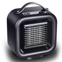 PTC Ceramic Space Heater Mini Electric Heating 1000W Warm Winter Desktop Portable Fan Heater for Indoor Home Office