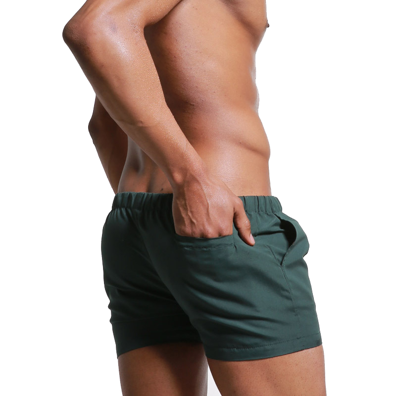 Men Beach Board Shorts Trunks Beachwear Swimwear Swimsuit Beachshorts sunga Sportpants Swim Surf Bating Boxer Suit With Pocket