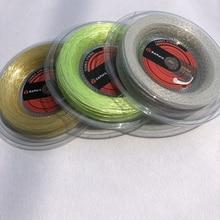 1 Reel ZARSIA 200m Big Reel Tennis nylon soft spinning tennis string ashaway synthetic gut 16 tennis string reel