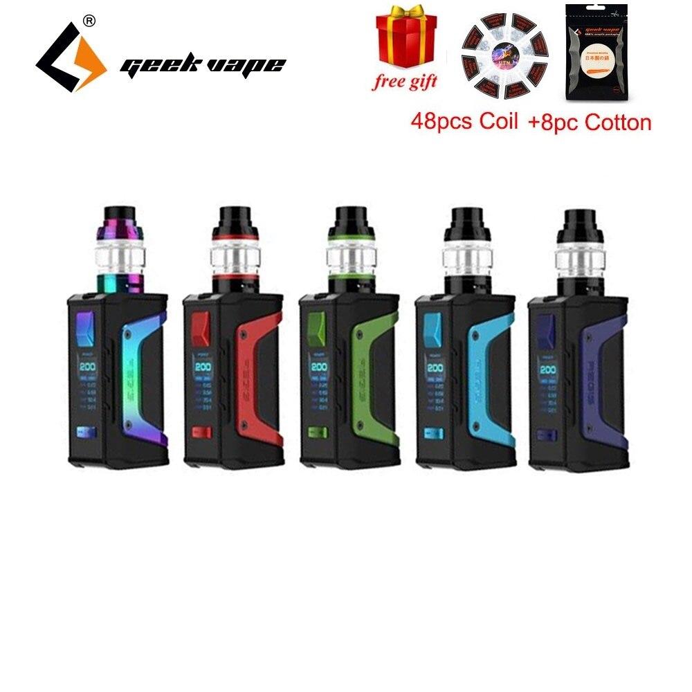 Cadeau gratuit! GeekVape L'égide Légende TC Kit avec 4 ml Aero Mesh Version Réservoir et Facile Top Recharge et D'air En Bas E -cig Kit VS L'égide