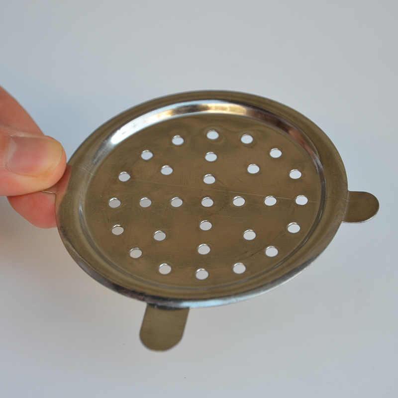 1 ピース金属画面炭ホルダー水喫煙シーシャ水ギセルアクセサリー Chicha Narguile パターンランダム