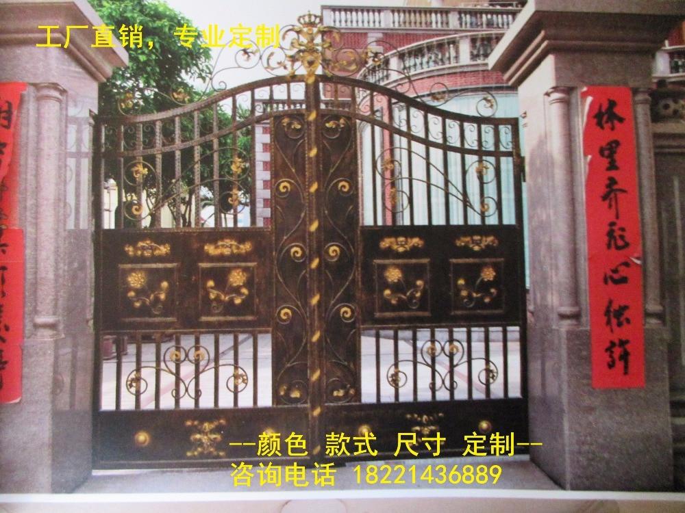 Hench 100% Hot Dip Galvanized Steel Iron Gates  Model Hc-ig13