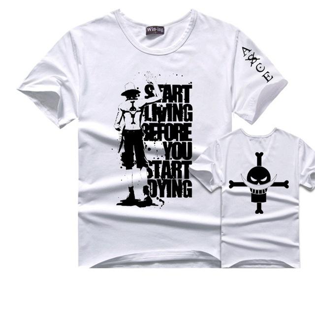 Short Sleeve Cotton Summer Print T Shirt