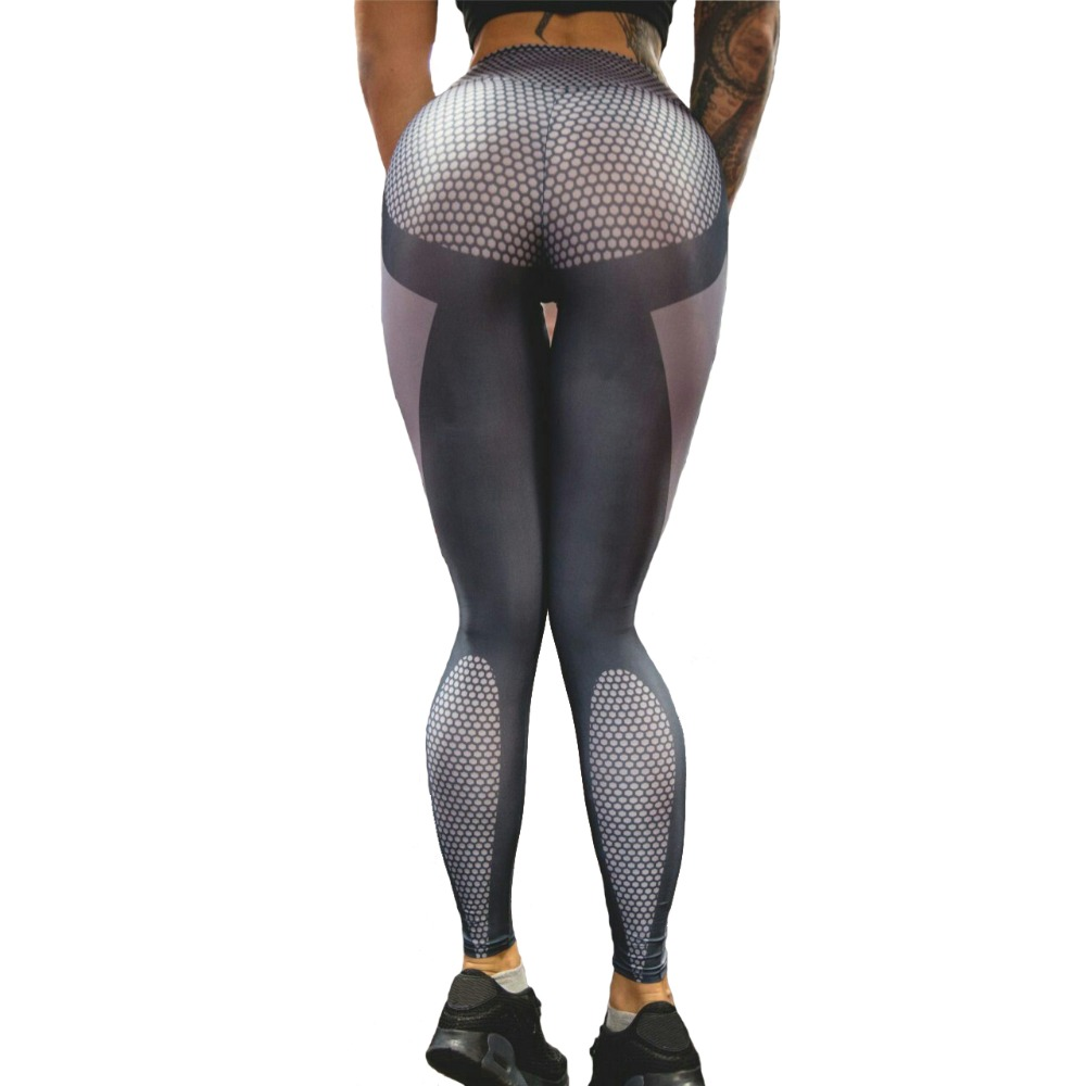 Leggings Women Sexy Hips Push Up Elastic Pants Fitness Legging Running Tights for Gym Jogging Yoga Leggings