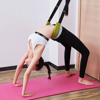 Split legs Yoga Stretch Belt Strap Ballet Dance Gymnastics Calisthenics Training Yoga Stretch Belt Home Gym Fitness Accessories 1