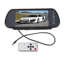 Car Styling 7 zoll TFT LCD Bildschirm Auto Rückansicht Monitor Display für Hintere Ansicht-rückseite Kamera Auto TV Display