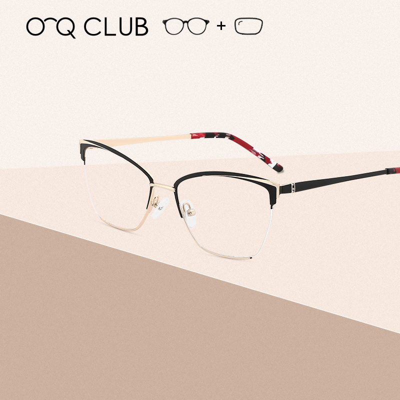 Women Cat Eye Designed Eyeglasses  Optical Frame Prescription Fashion Eye Glasses Computer Glasses Retro Women Eyeglasses(China)