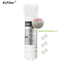 Korean Quick Connect UF Filter Water Ultrafiltration Hollow Fiber Membrane Filter Cartridge цена и фото