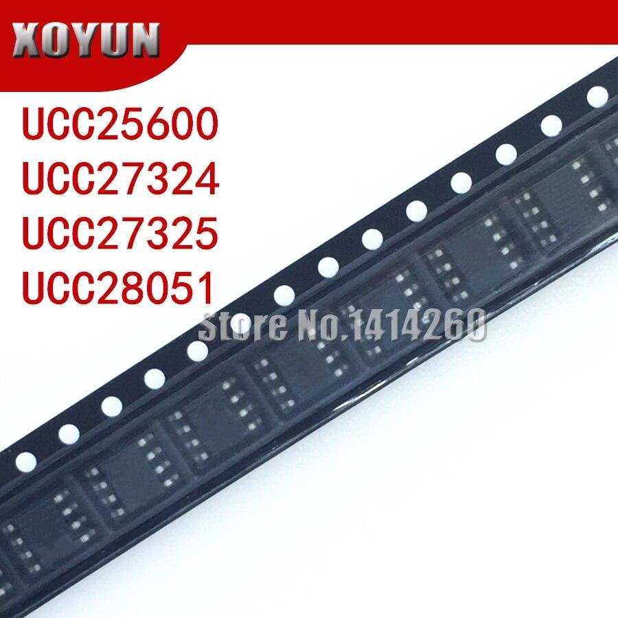 5pieces/lot UCC25600 UCC27324 UCC27325 UCC28051 SOP-8 25600 27324 27325 28051