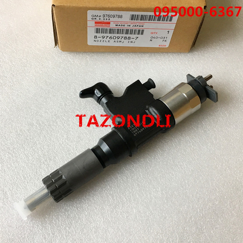 Genuine and New common rail injector095000 6366 095000 6363 095000 6360 for 8976097887 8 97609788 6