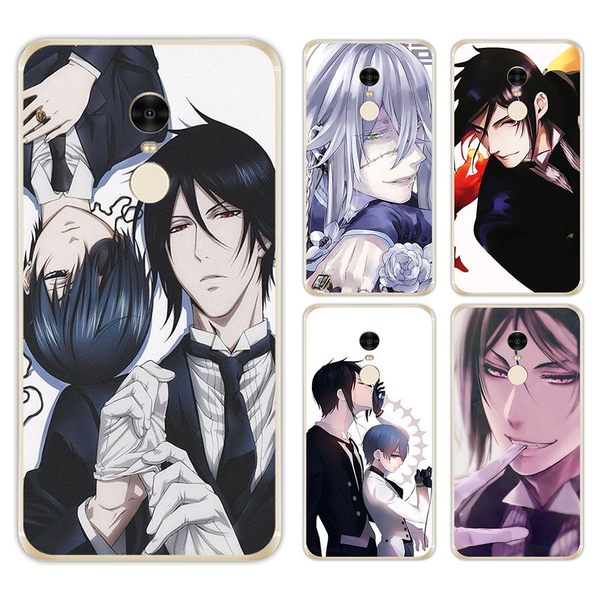 LISM Anime Black Butler Hard Case For Xiaomi Redmi 5A 5 Plus 6 Pro 4X 4A 6A Note 5A Prime Note 5 Pro 4X Cover