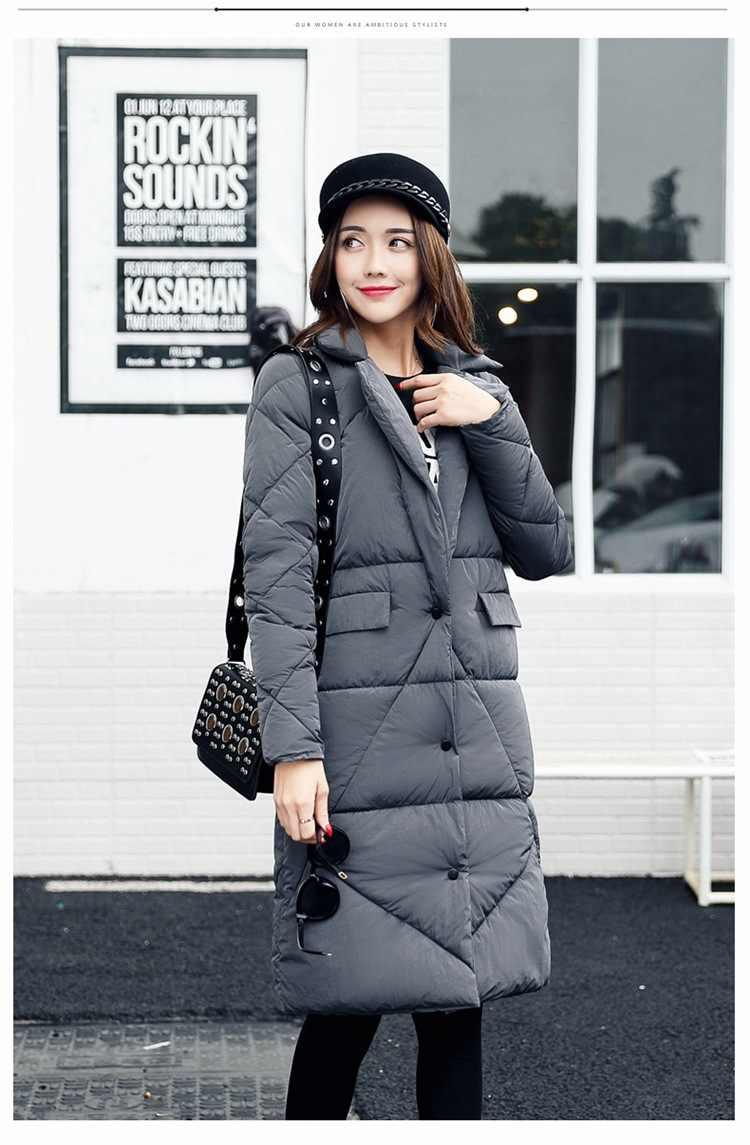 f83e2a54863 New black gray brown women cotton down jackets women's winter coats cotton  down super warm waterproof
