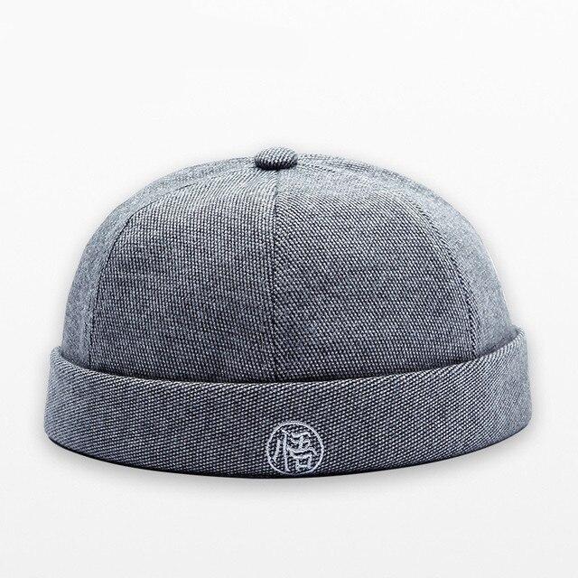 eeb50812565 Brimless Cotton Cap For Men Women Street Dance Skull Caps Gorras Para  Hombre Hip Hop Hat Adjustable Chapeau Baseball Hats