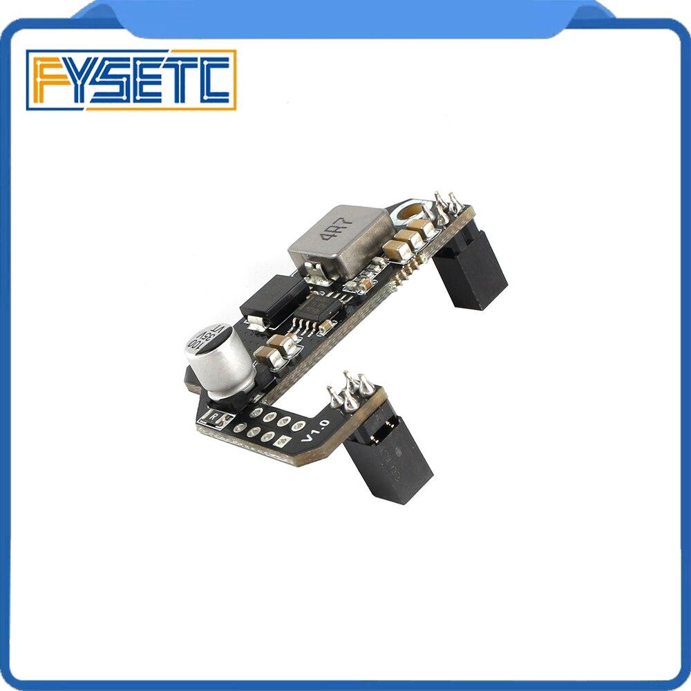 Cheetah Addon 24V To 12V Module Support Running 12V RGB & Fans For Creatlity CR10 Ender-3 Ender 3 Pro Ender 5 3D Printer Parts