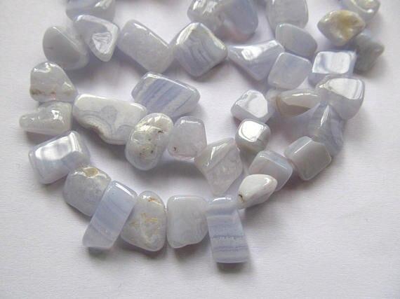 Grosshandel 2 Strange 8 12mm Nautral Achat Stein Onyx Kristall